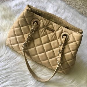 Kate Spade Gold Coast Quilted Leather Handbag