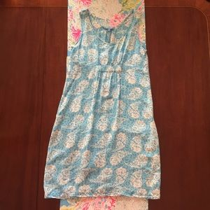 1514f6c3 Blue Ginger Hawaiian dress in a roomy XS