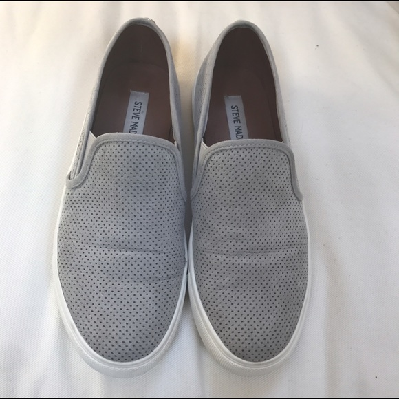 e1301b55bac Steve Madden Genette Grey Platform Sneakers. M 598484507fab3afb110240fc