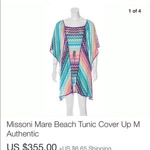 In search of missoni mare cover up