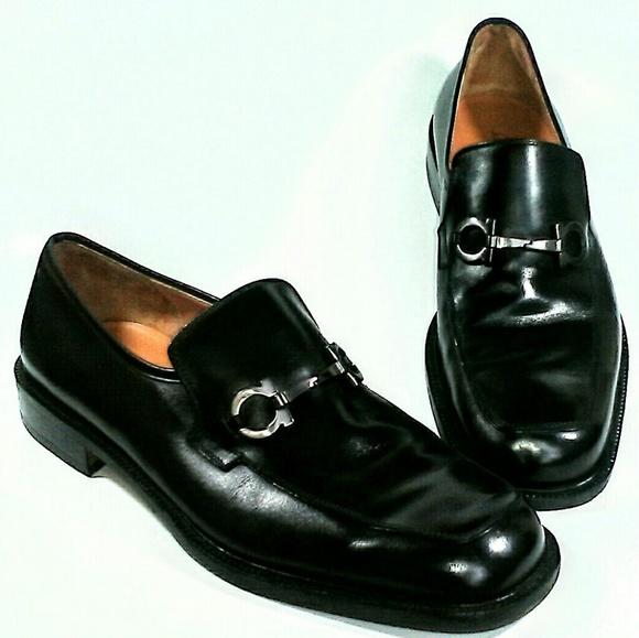49b1318e58df Salvatore Ferragamo Studio Black Mens Shoe 10 D. M 598488e02599fe185a0246fa