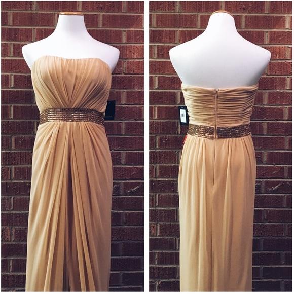 Marina dresses neiman marcus gold long evening gown dress poshmark neiman marcus marina gold long evening gown dress junglespirit Choice Image