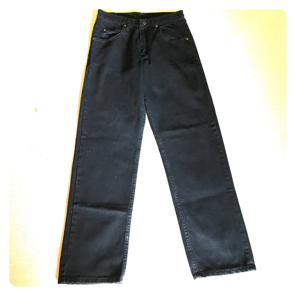 1e873b1a Wrangler Jeans | Black Size 30 X 30 Relaxed Fit | Poshmark
