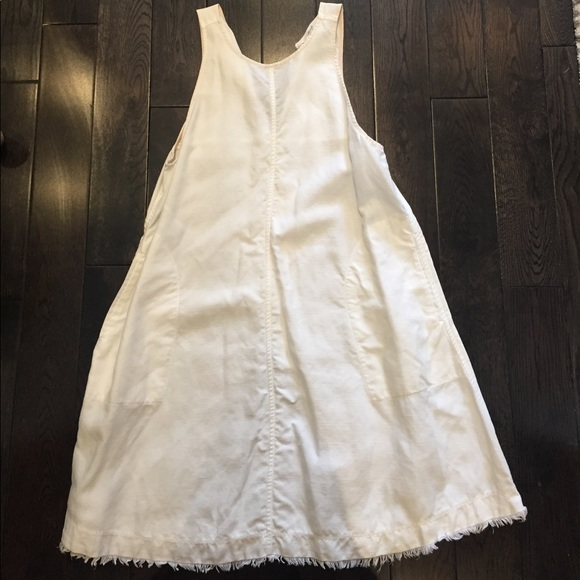 956553adb4 Wilfred White Linen Dress. M 59848a422fd0b71dae024f28