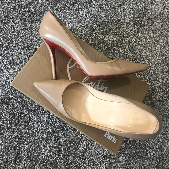 dc397366cd85 Christian Louboutin Shoes - Authentic CL APOSTROPHY pump 100 KID