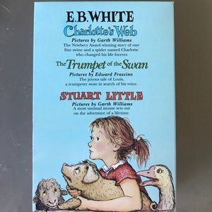 Books by E.B. White (comes with all 3)