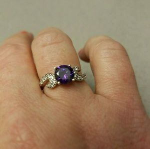 Beautiful Amethyst Sterling silver