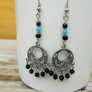 Boho Dangle Chandelier Earrings