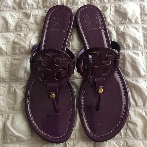 e5d4048ec Tory Burch Sweet Plum Purple Miller Sandals 8. M 5984ae9f41b4e0620002f165
