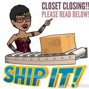 🌟CLOSET CLOSING!🌟