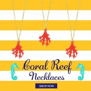 Coral Reef NecklaceBoutique for sale