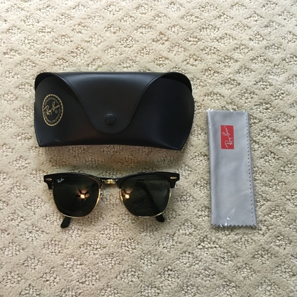 437ab1ffcba 100% Authentic Ray Ban Clubmaster Sunglasses. M 5984b61199086a4636030952