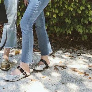 Shoes - Snake Mule