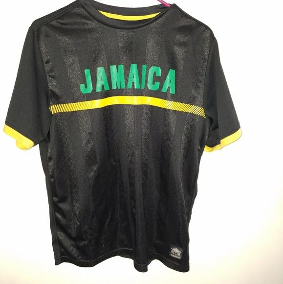 b5ea52f5 Jamaica Umbro Football Soccer Jersey Kit
