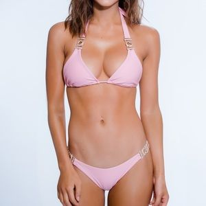 Brand new Chi Swimwear bikini swim set pink