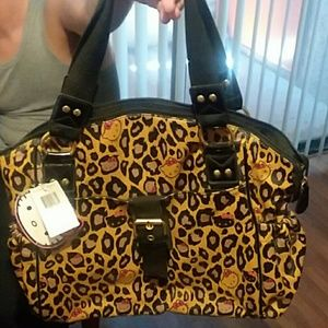 A Hello Kitty loungefly large bag