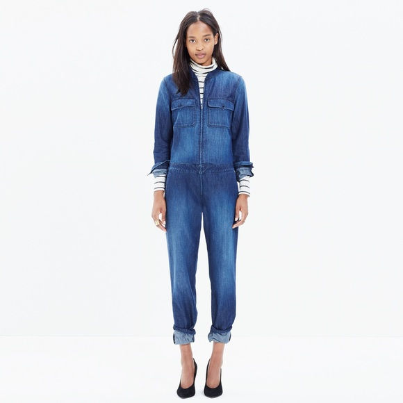 2632055b56a Madewell Other - Madewell coverall zip jumpsuit