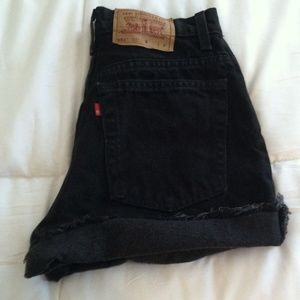 Levi's high waist Jean shorts Size 10
