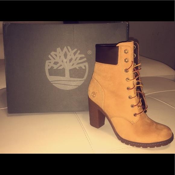 Womens Timberland High Heel Boots