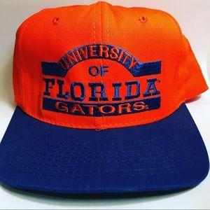 Vtg Florida gators snapback hat Adult Men Orange