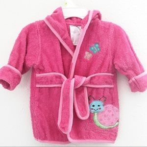 Babies R us Pink Robe 0-9 months