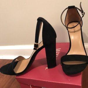 5292a32ba3 Merona Shoes - Lulu Block Heel Sandals - Merona™- Target -Sz 8