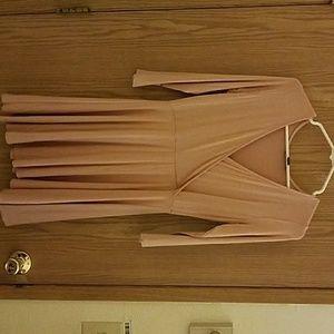 Dresses & Skirts - Peach Pink Skater Dress