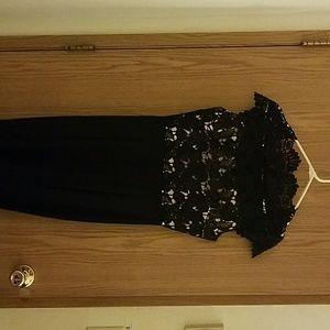 Dresses & Skirts - Formal Black Lace Dress