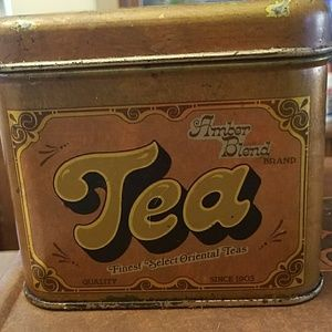 Other - Vintage Tea Box canister