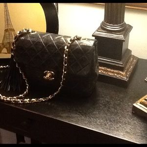 Authentic vintage Chanel handbag