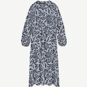 New with tags Zara printed midi dress size small