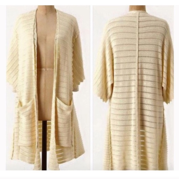 58% off Anthropologie Sweaters - Anthropologie Guinevere Long ...