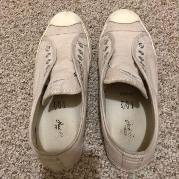 63189f0b8aa0 Converse Shoes - Jack Purcell Converse Laceless Slip On