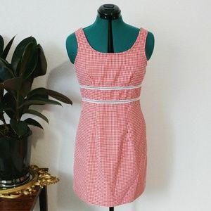 90's Vintage Gingham Sun Dress