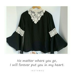 *Midnight Poetry Blouse