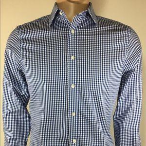 Gap slim fit Men's shirt long sleav Sz S 14 14 1/2