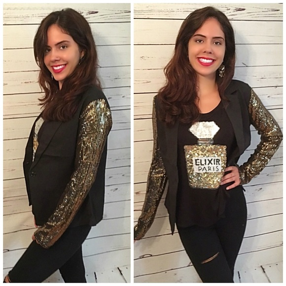Jackets & Coats - AVAILABLE Gorgeous sequin stretch blazer