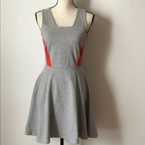 French connection A Line Dress size 6 grey A88