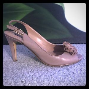 Shoes - Beige slingback by Bandolino