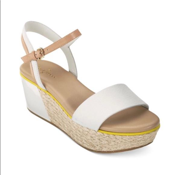 797b45d7f3c Cole Haan Shoes - Cole Haan Arden Wedge Sandals
