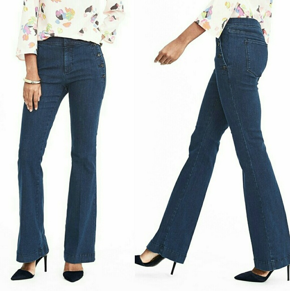 97e840c0f2150 Banana Republic Jeans | Sailor Flare In Oak Wash | Poshmark