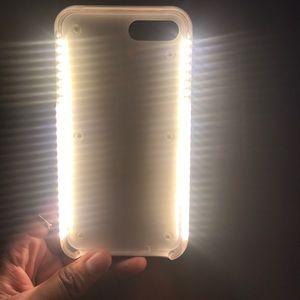 Fake Lumee selfie iphone 7 plus case