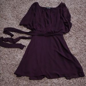 Plum colored dress Forever21