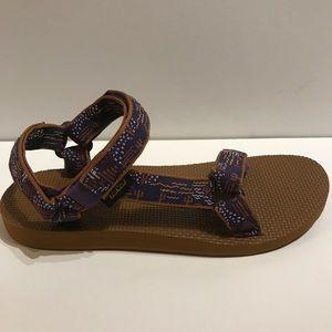 c523262f7 Teva Shoes - Teva Original Universal Duncan Sandal Purple Aztec