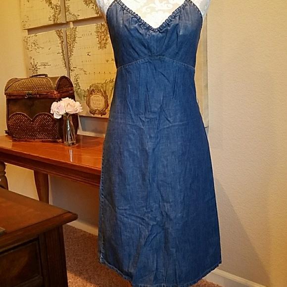 5604f03129 GAP Dresses   Skirts - GAP denim halter dress