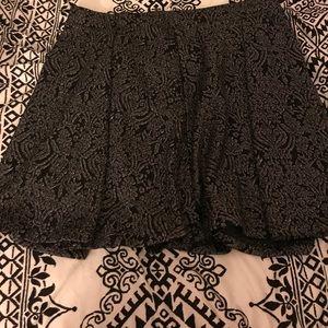 Metallic Skater Skirt Size 1