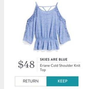 NWT Stitch Fix Skies are Blue Eriane Knit Top