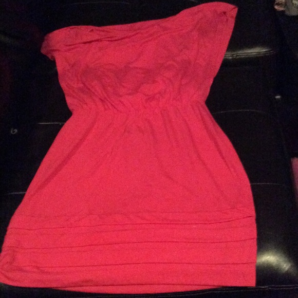 Reddish Pink Dress