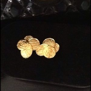 Authentic Rare Vintage Chanel Earrings
