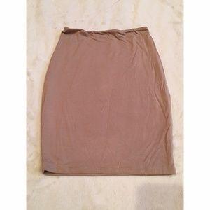 Naked Wardrobe Skirts - New Naked Wardrobe Bodycon Nude or Black skirt